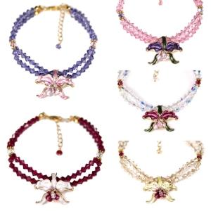 Orchid Bracelets