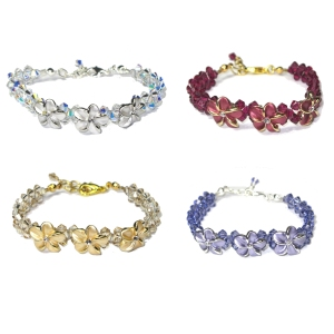 Plumeria Bracelets