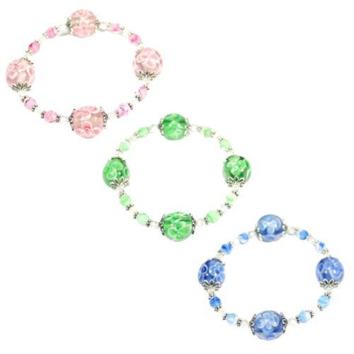Flower Bubble Bracelets
