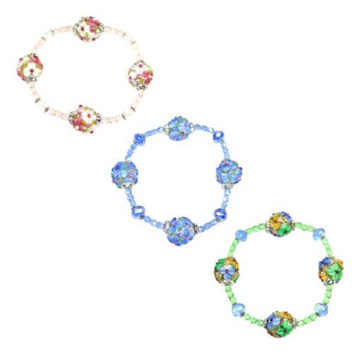Flower Round Bracelets