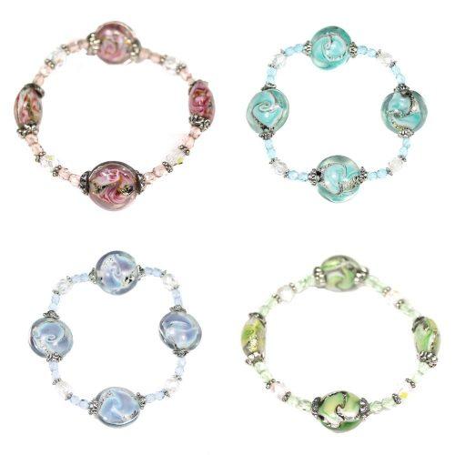 Swirl Coin Bracelets